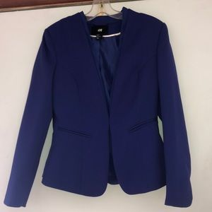 Like New Bluish Purple Size 8 H&M jacket